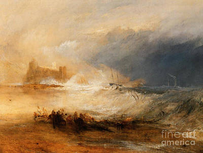 Apprehension Painting - Wreckers Coast Of Northumberland by JMW Turner