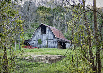 Photograph - Wren School Road Barn by Cricket Hackmann