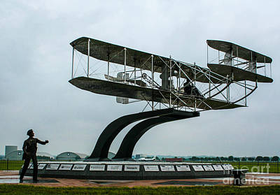 Wright Flyer Memorial Original by Tommy Anderson