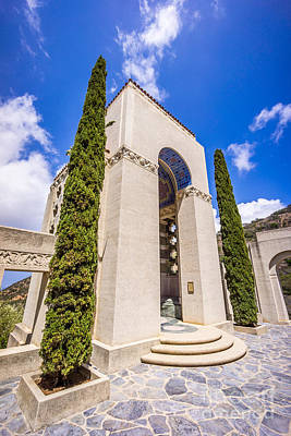 Tomb Photograph - Wrigley Memorial On Catalina Island Picture by Paul Velgos