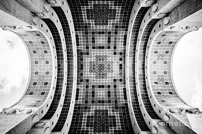 Santa Catalina Island Photograph - Wrigley Memorial Tiled Ceiling On Catalina Island by Paul Velgos