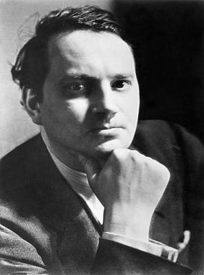 Clayton Photograph - Writer Thomas Wolfe by Underwood Archives