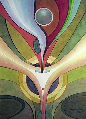 Transfiguration Painting - Ws1980dc001 Transfiguration II by Alfredo Da Silva