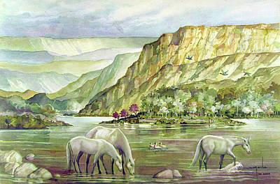 Ws2000dc023 Landscape Bolivia 18x12 Print by Alfredo Da Silva