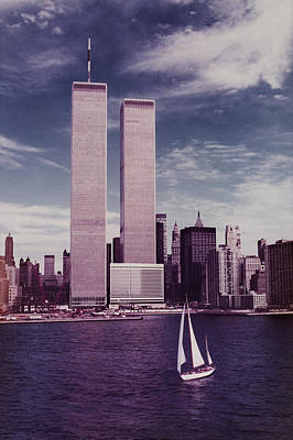 wtc Remembered Print by Laura Fasulo