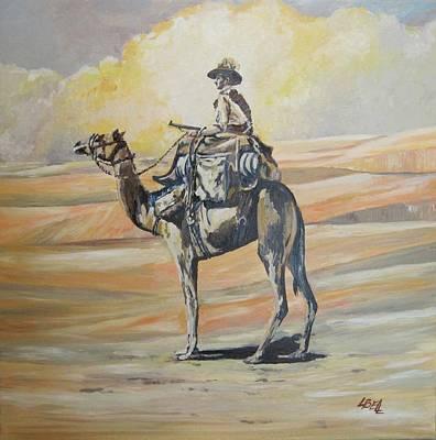 Ww1 Light Horse Cameleer Original by Leonie Bell