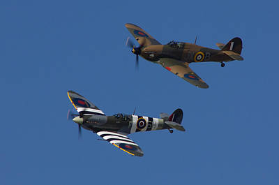 Ww11 Aircraft Photograph - Ww11 Fighter Planes  by Thanet Photos