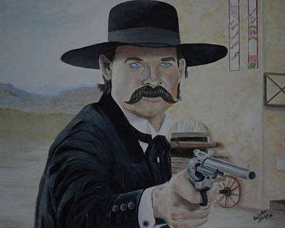 Wyatt Earp - Tombstone Original by Belinda Nagy