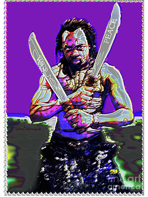 Stanley Slaughter Digital Art - War And Peace by Stanley Slaughter Jr