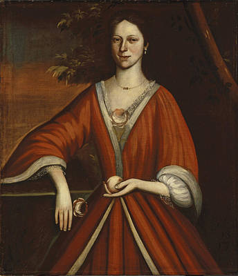 Nehemiah Partridge Painting - Wyntje Lavinia Van Vechten by Nehemiah Partridge