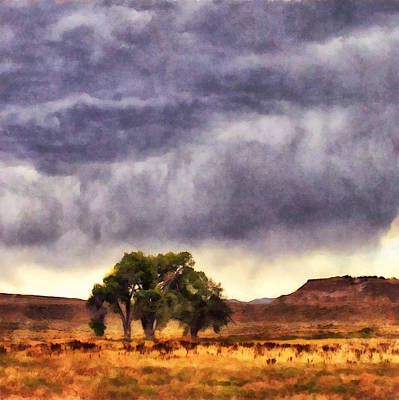 Thermopolis Photograph - Wyoming Summer Storm by Janet White