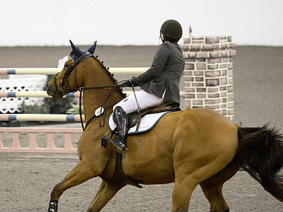 Eventing Photograph - X And Y by Betsy C Knapp