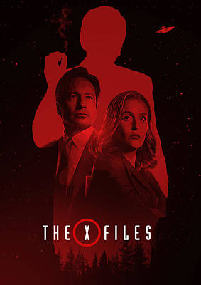 X-files  Print by Afterdarkness