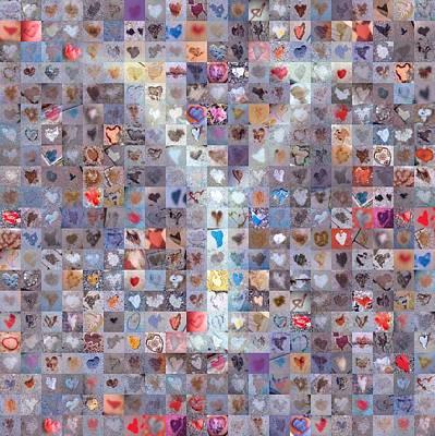 Digital Art - Y In Confetti by Boy Sees Hearts