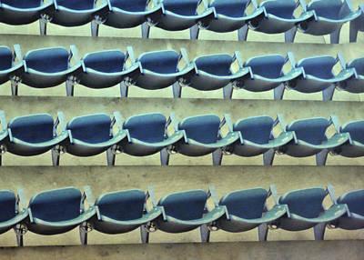Yankee Stadium Bleachers Photograph - Yankee Seating by JAMART Photography