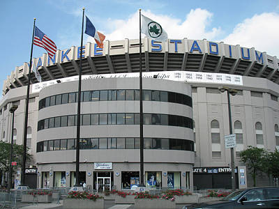 Yankee Stadium - New York Print by Daniel Hagerman