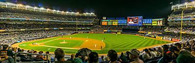 Boston Red Sox Photograph - Yankee Stadium by TL  Mair