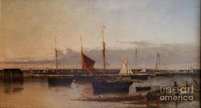 Yarmouth Harbour Print by Celestial Images