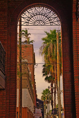 Ybor City Photograph - Ybor Arch by Patrick  Flynn