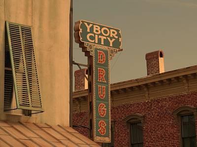 Ben Affleck Photograph - Ybor City Drugs by Robert Youmans