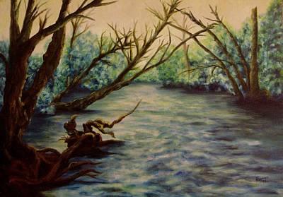 Yellow Breeches Creek Pennsylvania Print by Joann Renner