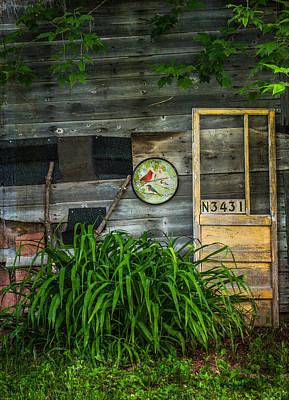Screen Doors Photograph - Yellow Door by Kathleen Scanlan