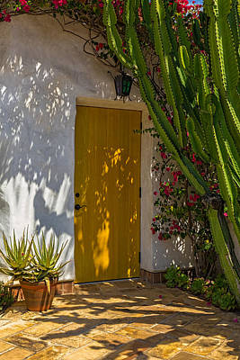 Canon 6d Photograph - Yellow Door by Thomas Hall Photography