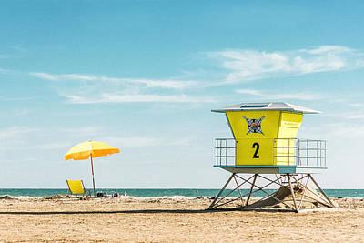 Yellow Summer Print by Jake Kerr
