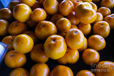 Vegatables Photograph - Yellow Tomatoes by Thomas Marchessault