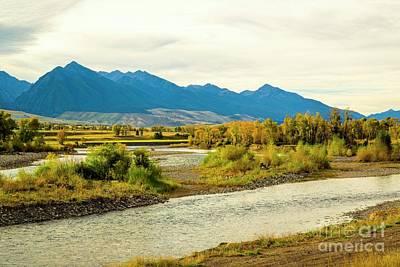 Gallatin River Photograph - Yellowstone Morning by Jon Burch Photography