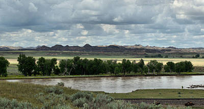 Yellowstone Digital Art - Yellowstone River After The Storm by Aliceann Carlton