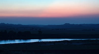 Yellowstone Digital Art - Yellowstone River Evening by Aliceann Carlton