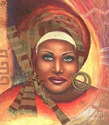 Yes . . . One Woman Can . . .  Print by Alga Washington