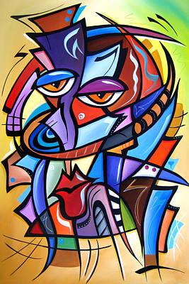 Pop Art Drawing - Yes Indeed by Tom Fedro - Fidostudio