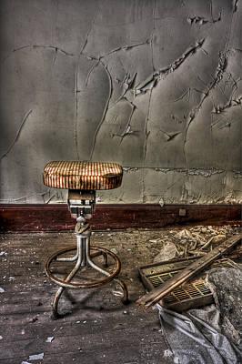 Garbage Photograph - Yesterday's Dark Future by Evelina Kremsdorf