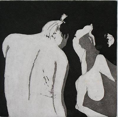 Brad Wilson Drawing - Yin And Yang by Brad Wilson