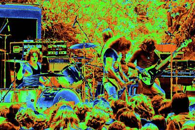 Photograph - Ynt #14 Crop 2 Enhanced In Cosmicolors #1 by Ben Upham