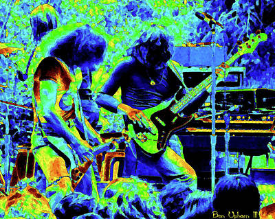 Photograph - Ynt #14 Crop 2 Enhanced In Cosmicolors #3 by Ben Upham