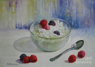 Yoghurt Time Original by Elena Oleniuc