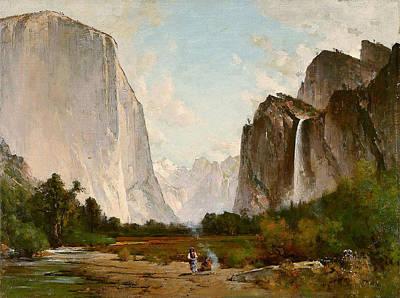 Thomas Hill Painting - Yosemite by Thomas Hill