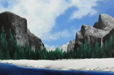 Yosemite Valley Print by Robert Plog