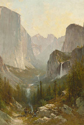 Thomas Hill Painting - Yosemite Valley by Thomas Hill