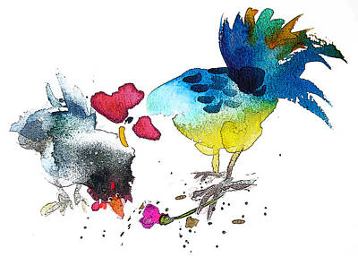 You Are My Sweet Heart Print by Miki De Goodaboom