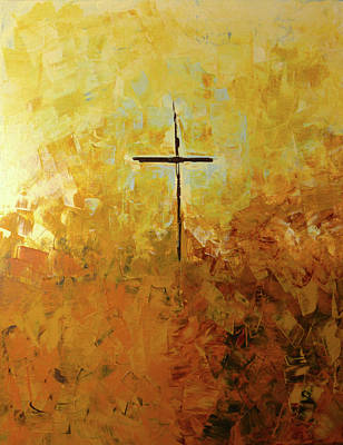 Christian Painting - You Are Near by Linda Bailey