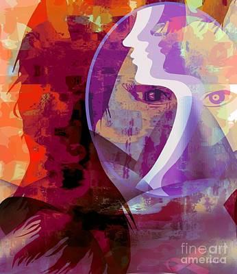 You Can Beat It Print by Fania Simon