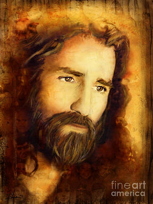Christian Artwork Mixed Media - You Love Them - 2 by Shevon Johnson