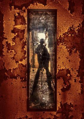 Asylum Photograph - You Shot A Hole In My Soul by Evelina Kremsdorf