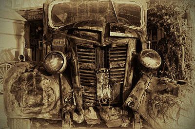 Truck Photograph - You Should See The Other Guy by Bill Cannon