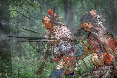Muzzleloader Digital Art - You Were There...battle Of Bushy Run by Randy Steele