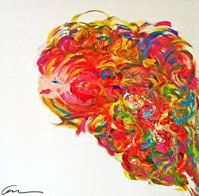 Painting - Young And Explosive by Mac Worthington